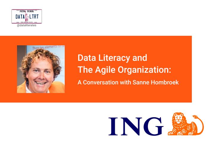 Sanne Hombroek ING Data Literacy